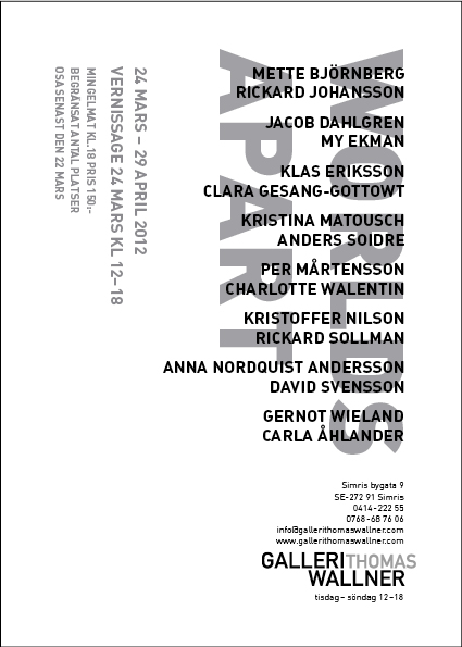 Worlds Apart Galleri Thomas Wallner